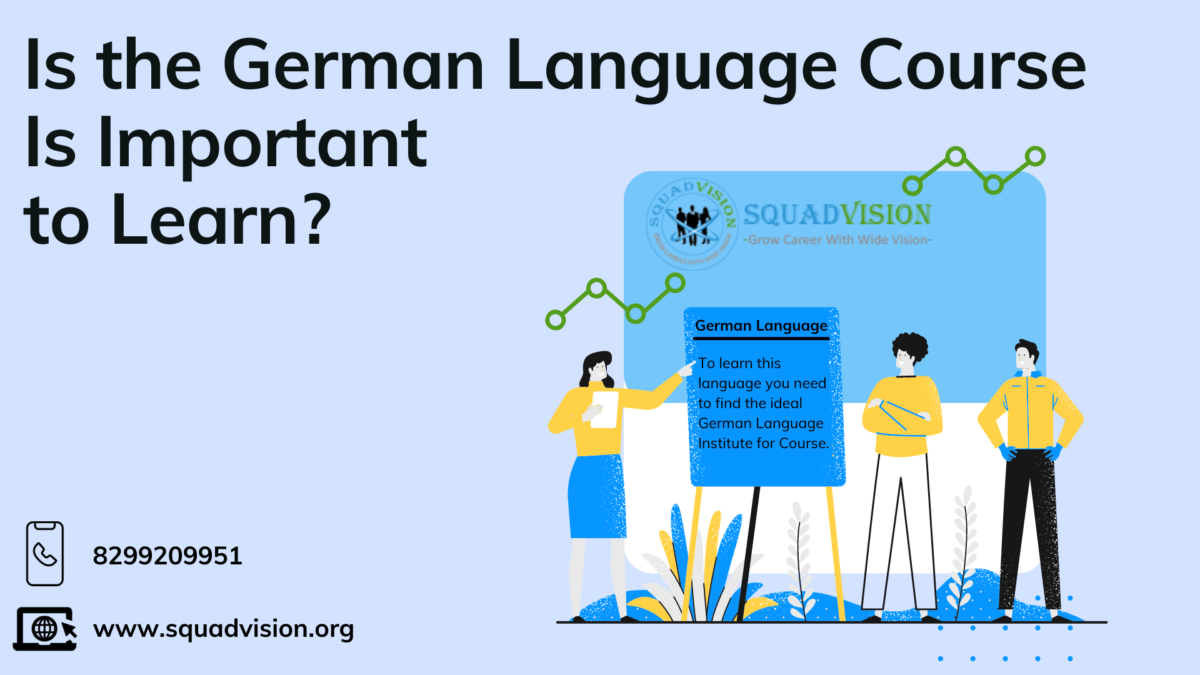 German Language Course Is Important to Learn